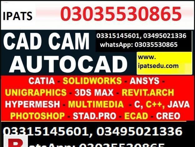 Autocad 2d,3d course and autocad 2d,3d max course