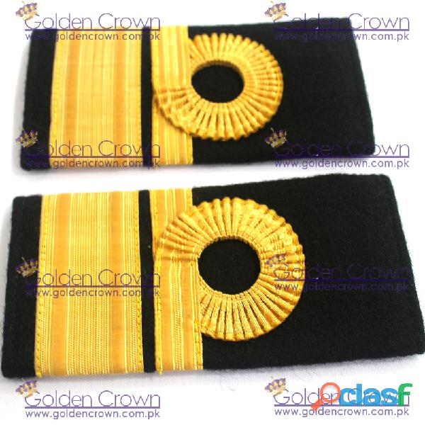 Navy epaulettes, navy epaulettes supplier and manufacturer