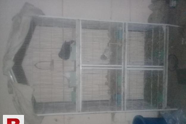 5 section cage