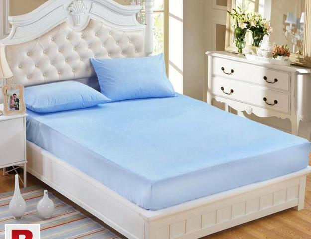 Cotton fitted mattress covers