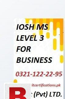 Safety officer level 3, level 6 #fashion designing courses