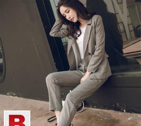 Women suit casual blazer work pant suits in pakistan
