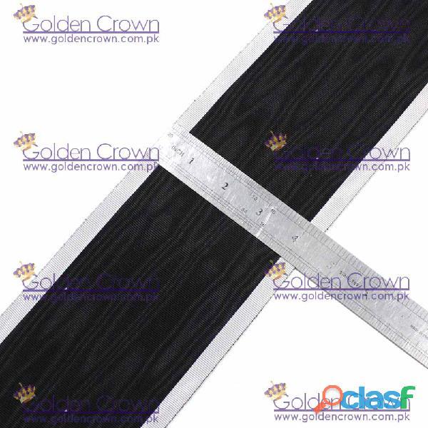 Masonic Moire Ribbon Black And White 1