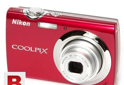 Digital camera nikon coolpix s230 touch screen