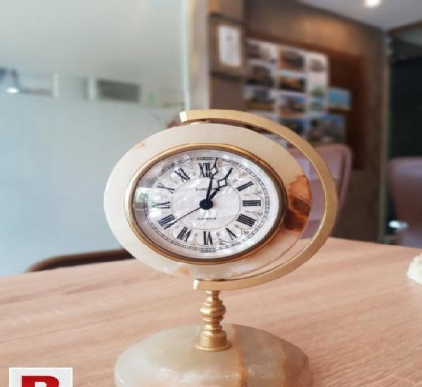 Imported victorian office table clocks made in germany many
