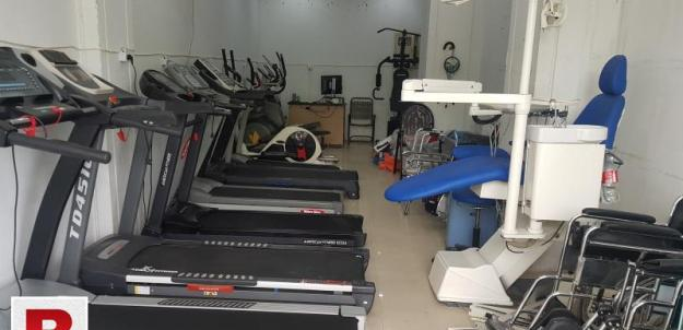 Gym equipment store