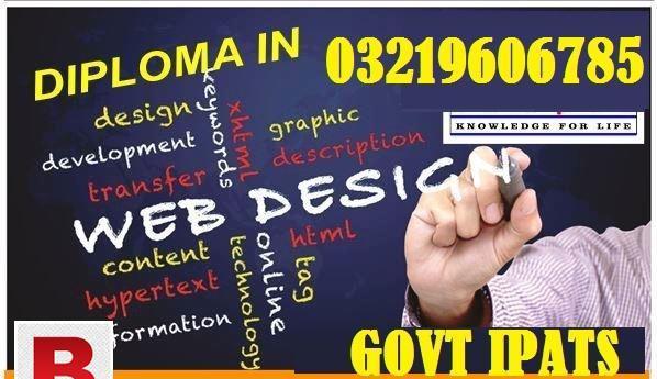 Web and graphics desining course in attock, multan,