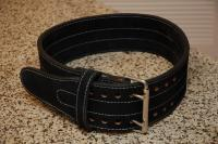 Power weight lifting belt with double prong buckle, sialkot