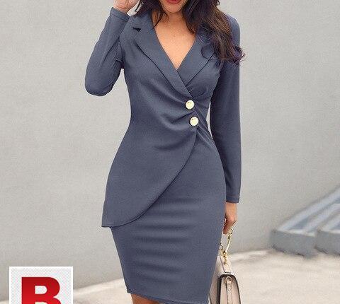 Women dresses summer solid casual women's dresses in