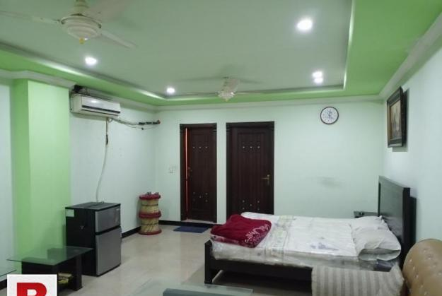 One bedroom furnished apartment available for rent in bahria