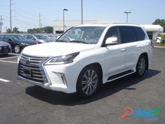 Perfectly used 2016 lexus lx 570 suv gulf specs for sale
