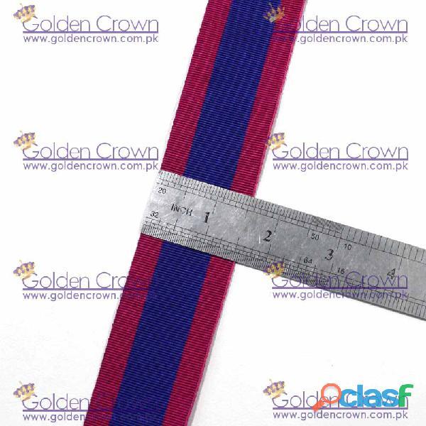 Masonic Regalia Medal Ribbon Red & Blue 3