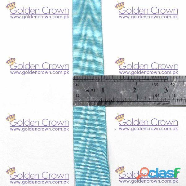 Masonic Regalia Medal Ribbon Sky Blue 3