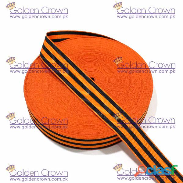 Medal Ribbon Orange And Black 1