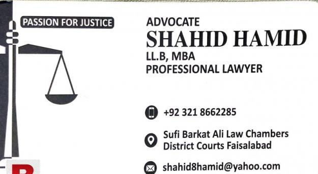 Best lawyer for family, civil & criminal cases