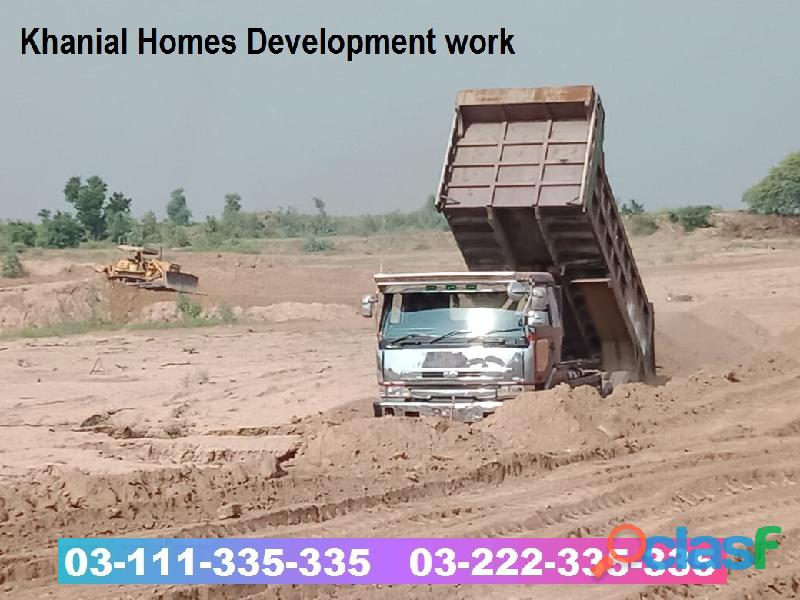 Khanial Homes Islamabad 5 8 10 marla plot for sale near new Airport on installments 2