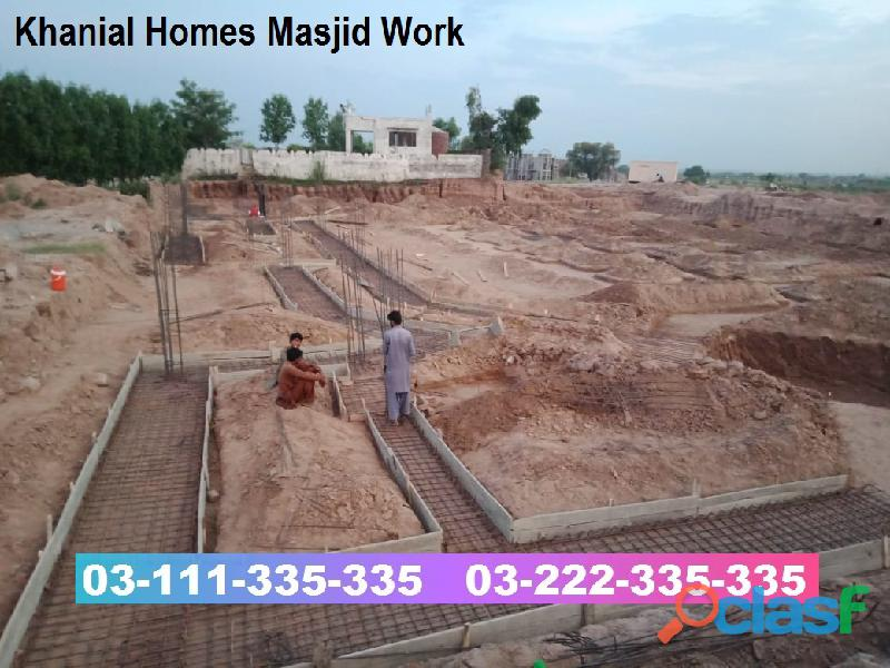 Khanial Homes Islamabad 5 8 10 marla plot for sale near new Airport on installments 6