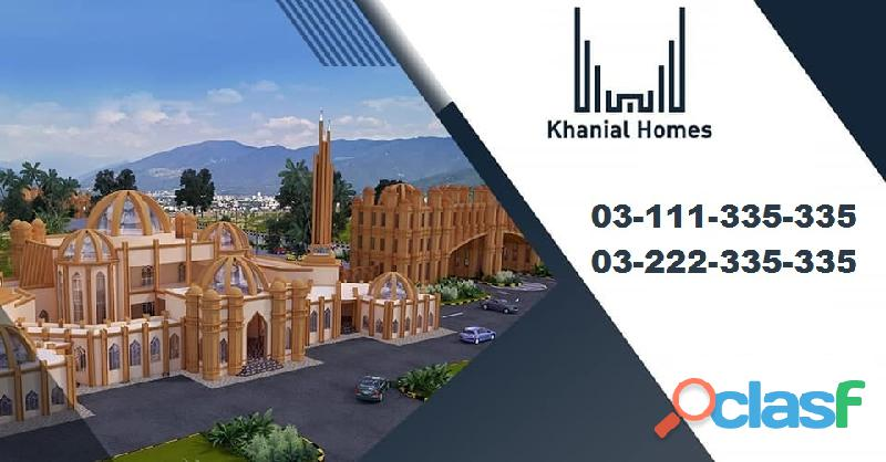 Khanial Homes Islamabad 5 8 10 marla plot for sale near new Airport on installments 14