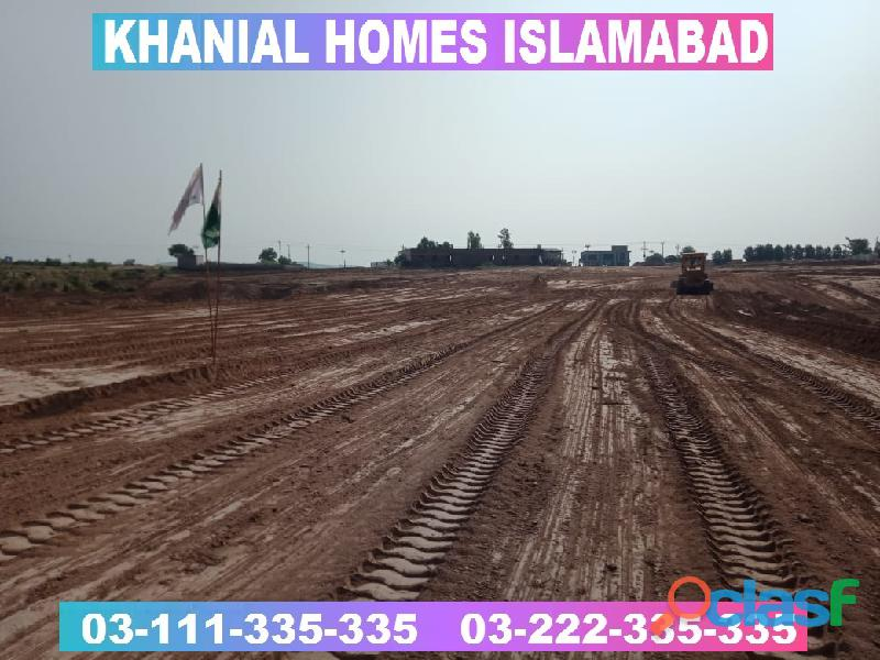 Khanial Homes Islamabad 5 8 10 marla plot for sale near new Airport on installments 16