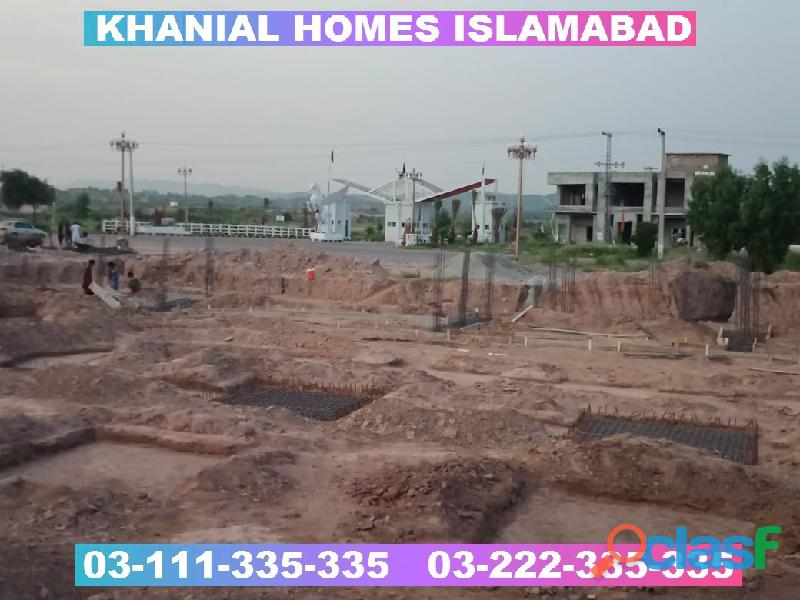 Khanial Homes Islamabad 5 8 10 marla plot for sale near new Airport on installments 18