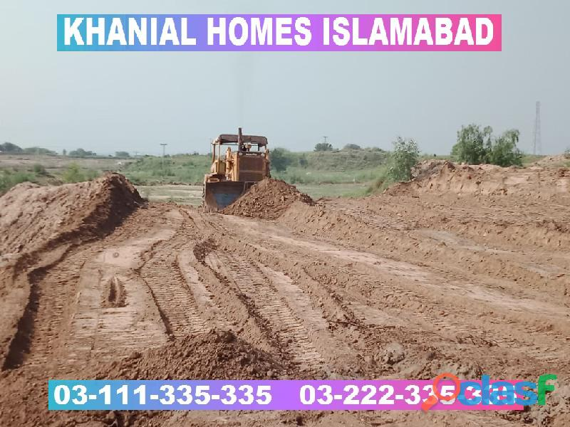 Khanial Homes Islamabad 5 8 10 marla plot for sale near new Airport on installments 19