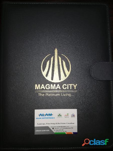 Magma City Chakri Road Rawalpindi 5 Marla plot for sale on installments