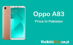 Latest oppo a83 specification and price in pakistan
