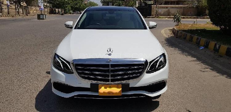 Mercedes benz e class e200 exclusive 2018