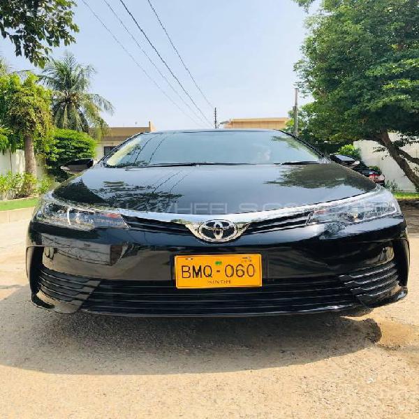 Toyota corolla xli vvti 2018