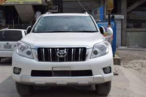 Toyota prado tx (2013) with driver on rent in islambad