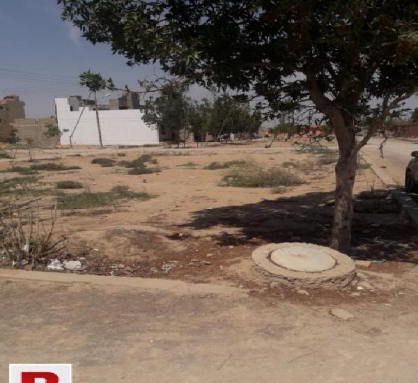 120 sq-yd plot for sale in gulshan-e-maymar salfia society