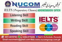 Ielts (preparatory class) courses in nucom rawalpindi