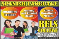 Lahore| gujranwala gujrat | sialkot spanish language bels