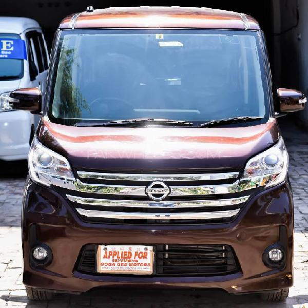 Nissan roox highway star urban selection 2014