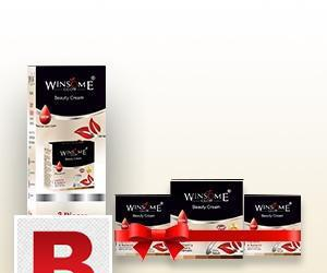 WINSOME GLOW BEAUTY CREAM 3 Value PACK