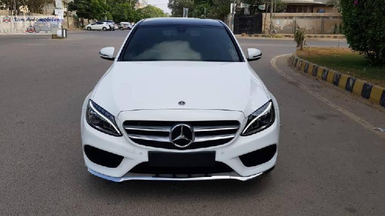 Mercedes benz c class c180 amg 2018