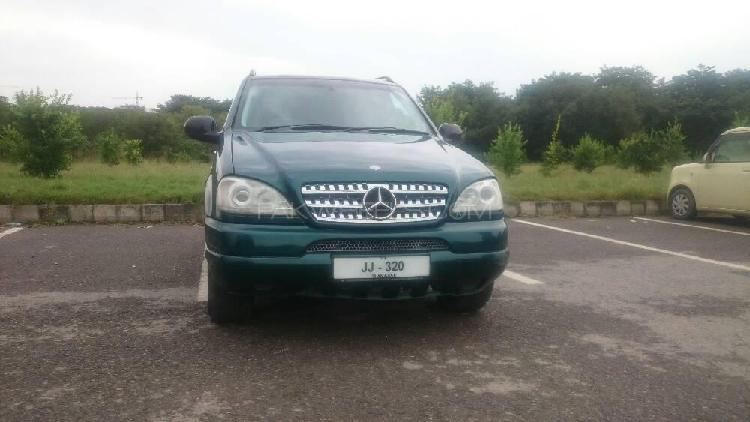 Mercedes benz m class ml 320 1999