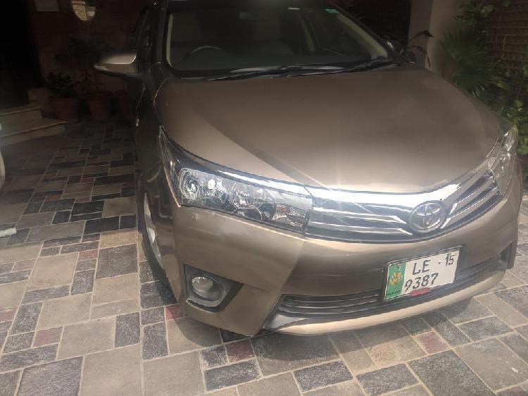 Toyota corolla altis automatic 1.6 2015