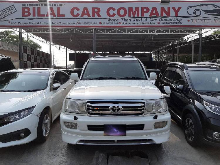 Toyota land cruiser vx limited 4.2d 2004