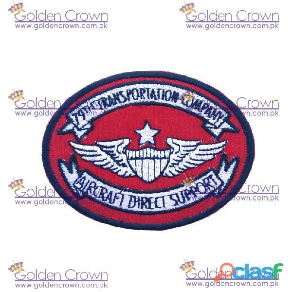Custom embroidery badges