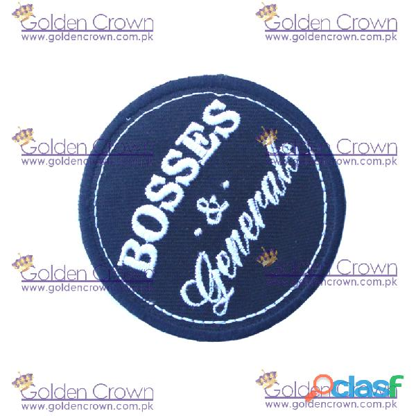 Woven patches supplier