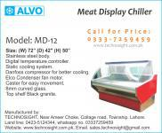Display Chiller For Meat Shop In Pakistan, ALVO Meat