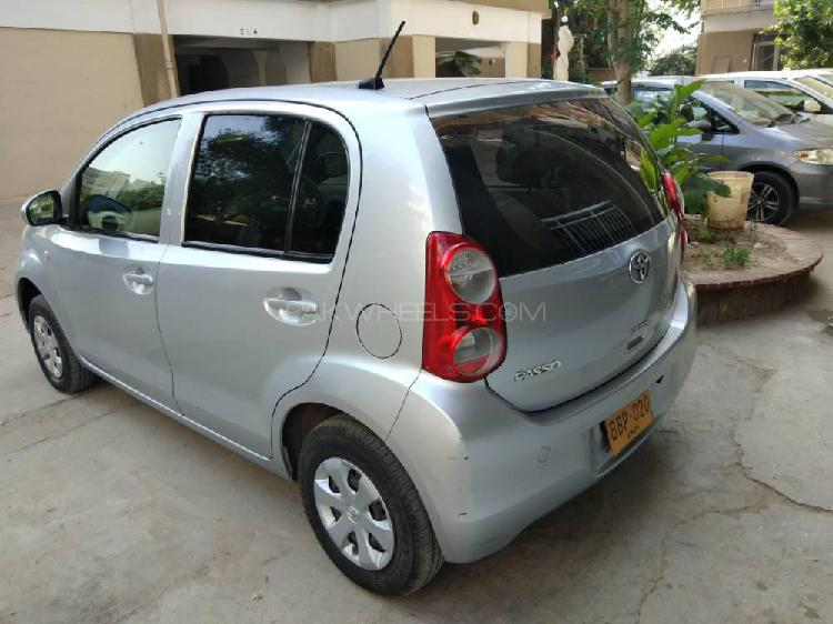 Toyota passo x g package 2011