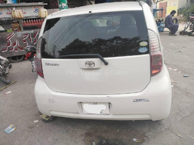 Toyota passo x v package 2008