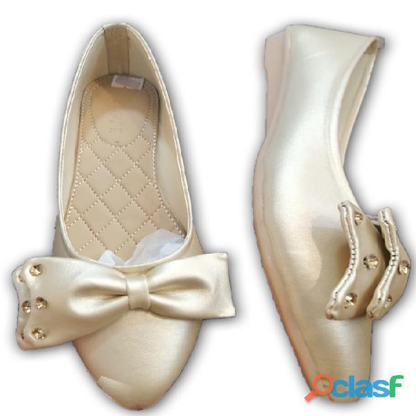 Skin flower shoe formal & casual shoe for women