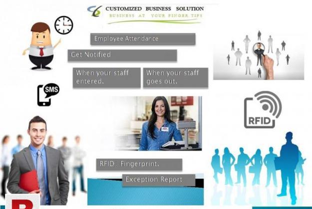 Attendance tracking software system