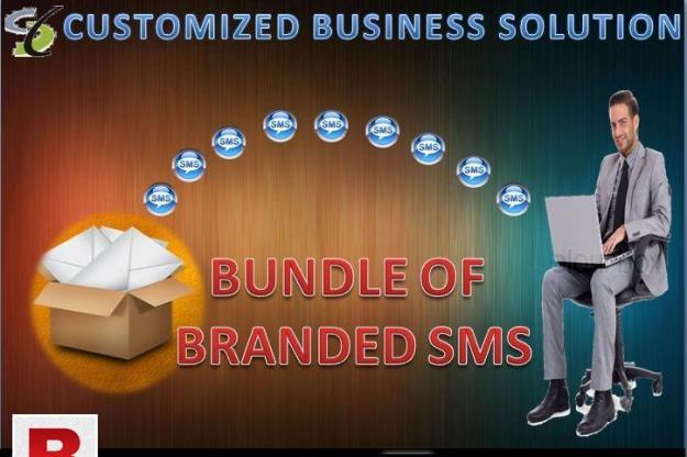 BUNDLE OF BRANDED SMS
