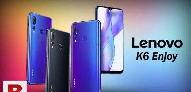 Lenovo k6 enjoy dual sim 4g