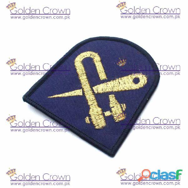 Royal navy boom defence rating badge