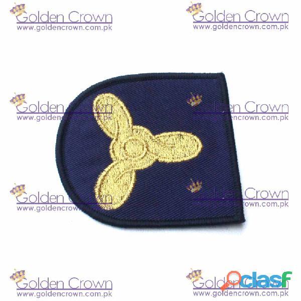 Royal navy stoker trade badge
